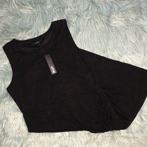 Apt. 9 Sleeveless Knit Faux Wrap Dress XL